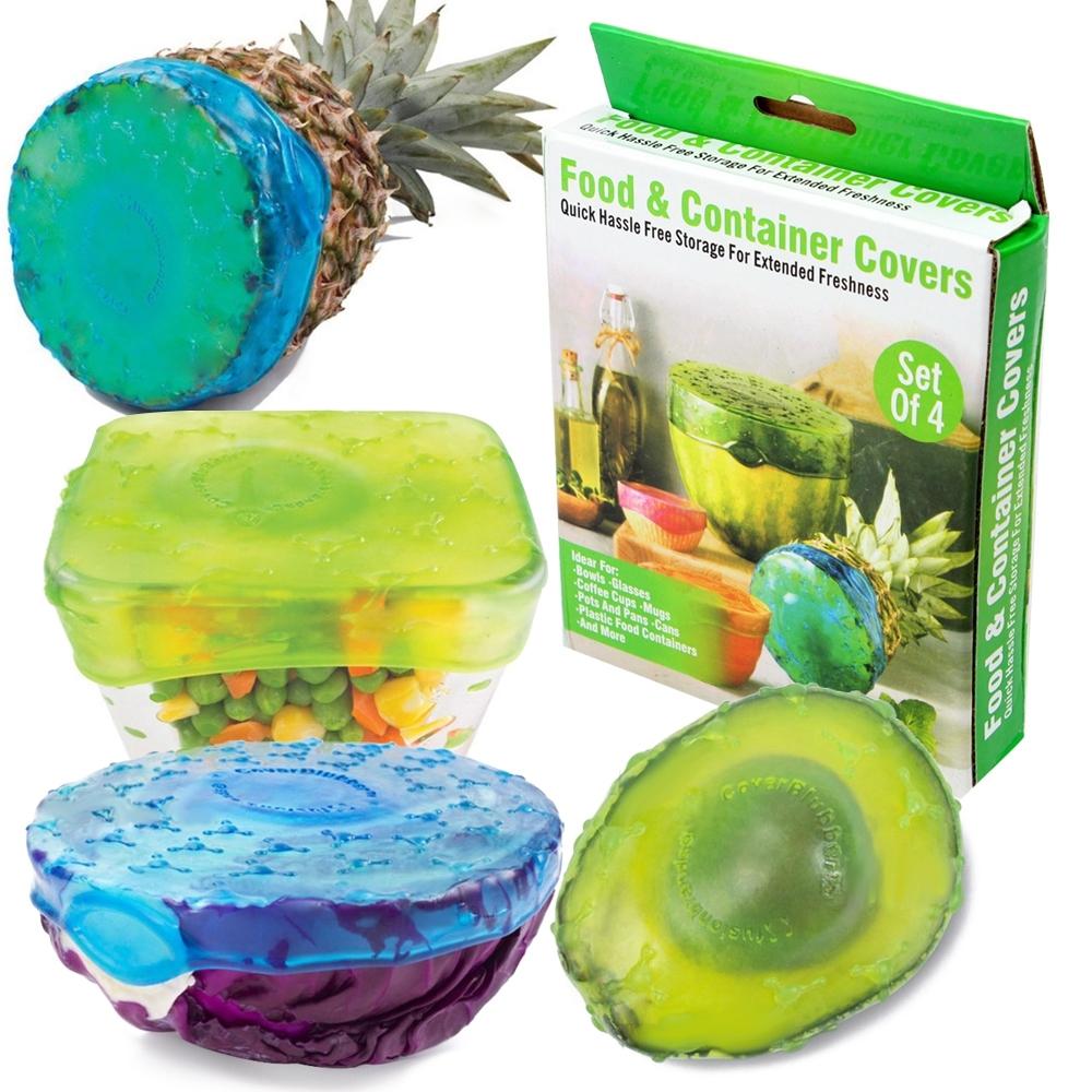ซิลิโคนครอบอาหาร Food Container Covers รุ่น FoodContainerCovers-00f-J1