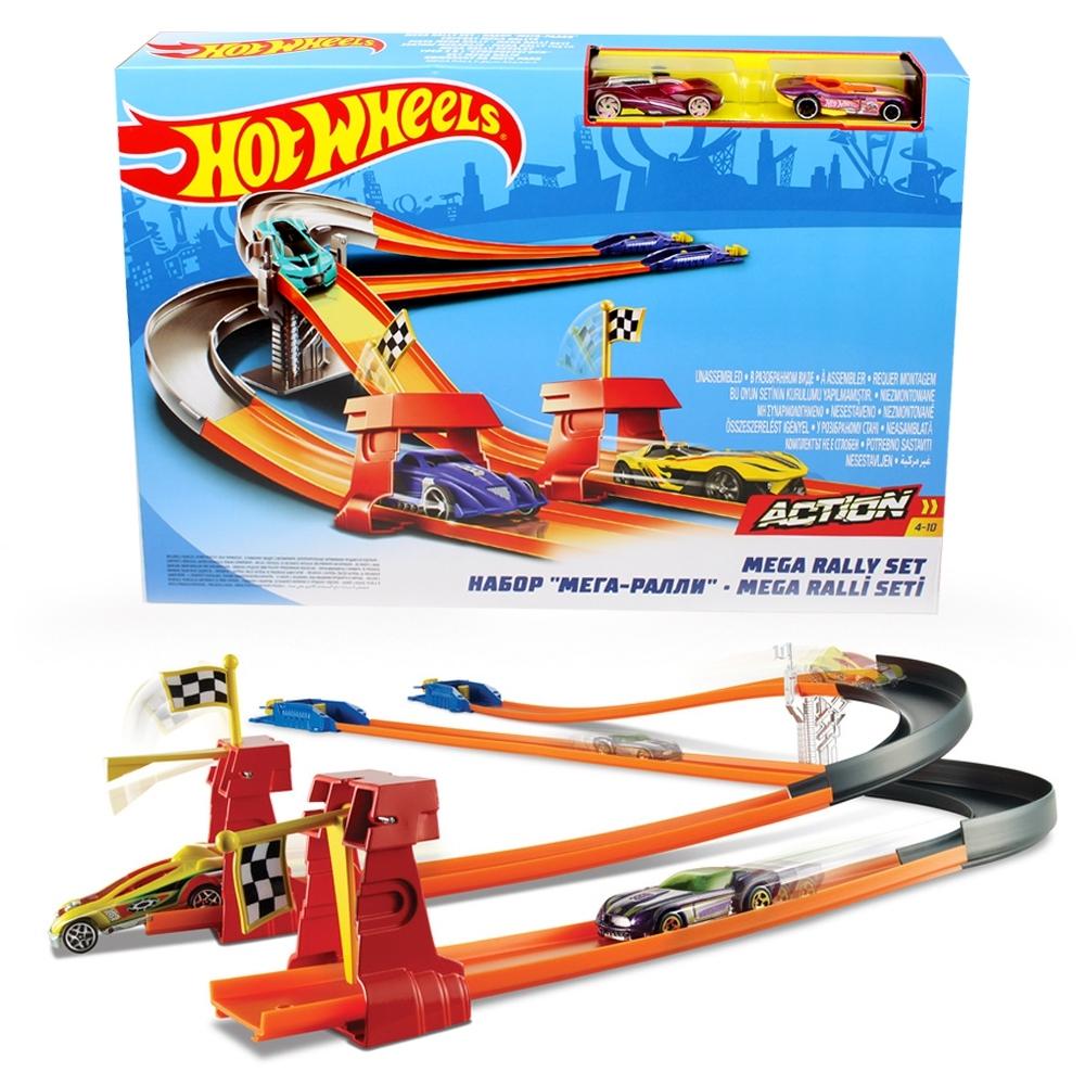 Telecorsa รางรถ HOT WHEEL Turbo Race Track Set BGJ10 รุ่น HotWheelBGJ10-100%-05D-Rim