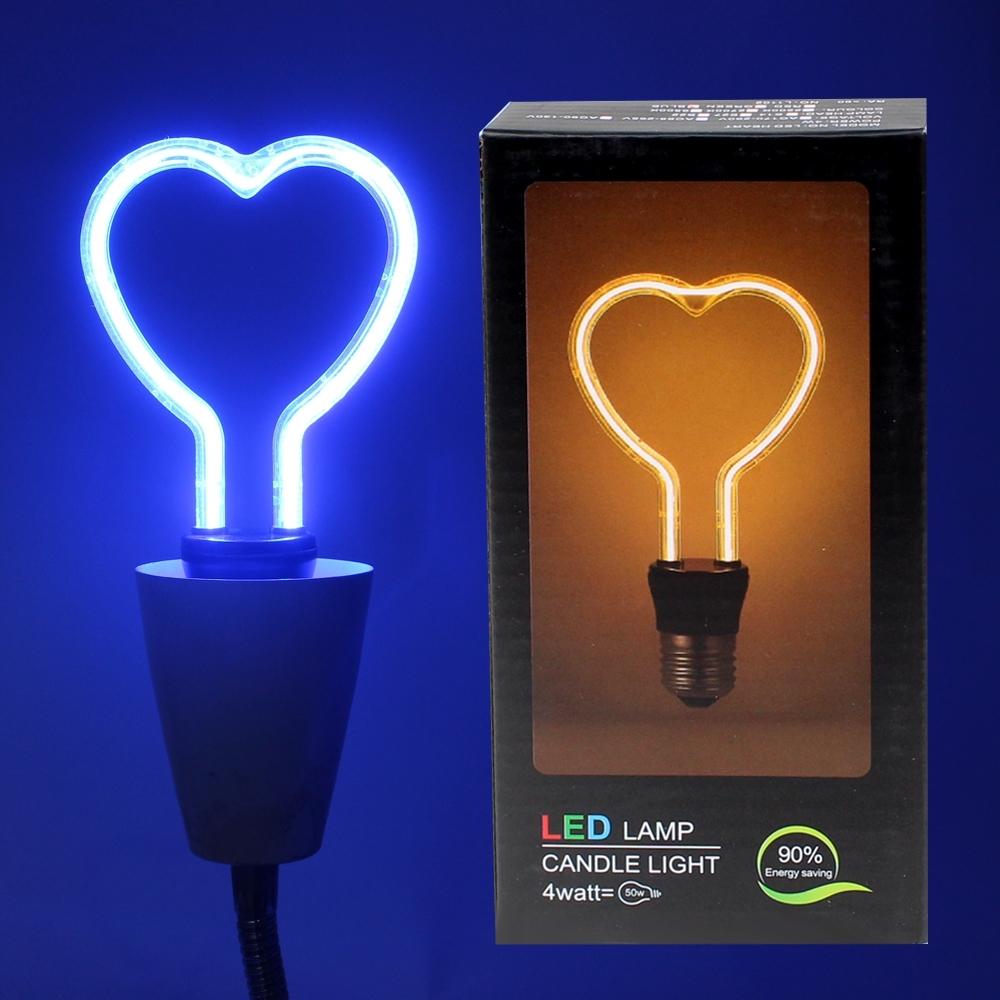 Telecorsa หลอดไฟ รูปหัวใจ LED Lamp Candle Light รุ่น HearTelecorsa หลอดไฟ รูปหัวใจ LED Lamp Candle Light รุ่น HeartLight-02A-JD2tLight-02A-JD2