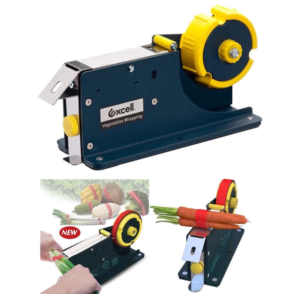 Telecorsa เครื่องรัดผัก เครื่องมัดผัก Excell ET-635 Vegetables Wrapping รุ่น Excell-ET-635-02K—Serm