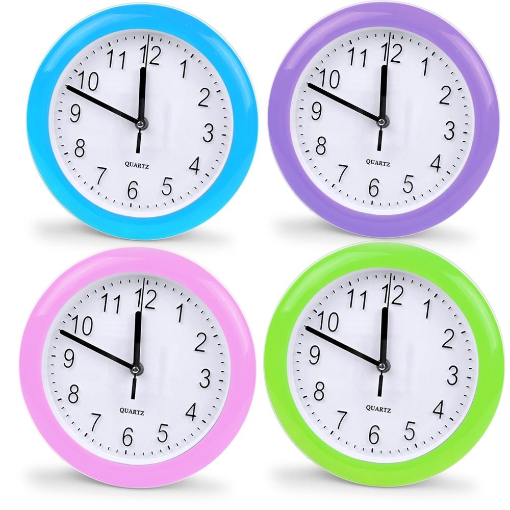Telecorsa นาฬิกาแขวน ทรงกลมตัวเลขนูน ขนาด 9 นิ้ว Good No.154 รุ่น Clock-154-6-00e-Song