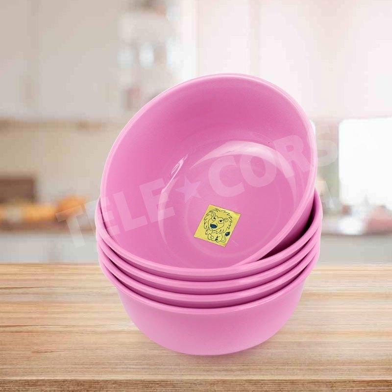 Telecorsa ถ้วยน้ำจิ้ม ถ้วยใส่อาหาร Size 11 CM. (คละสี) รุ่น Chinese-rice-bowl-japanese-soup-00e-T5