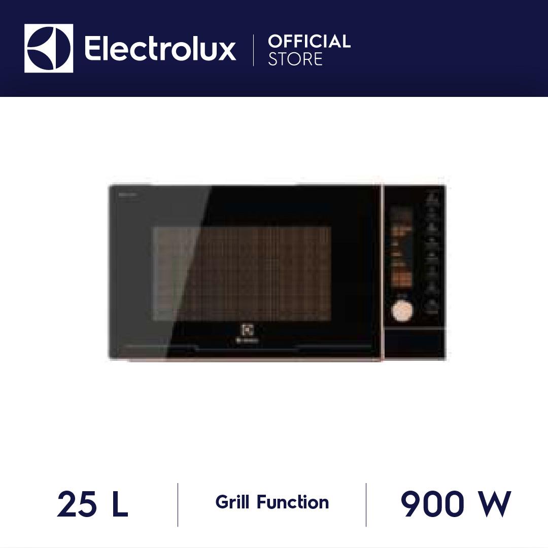 Electrolux ไมโครเวฟพร้อมระบบย่าง รุ่น EMG25D89GGP ขนาด 25 ลิตร