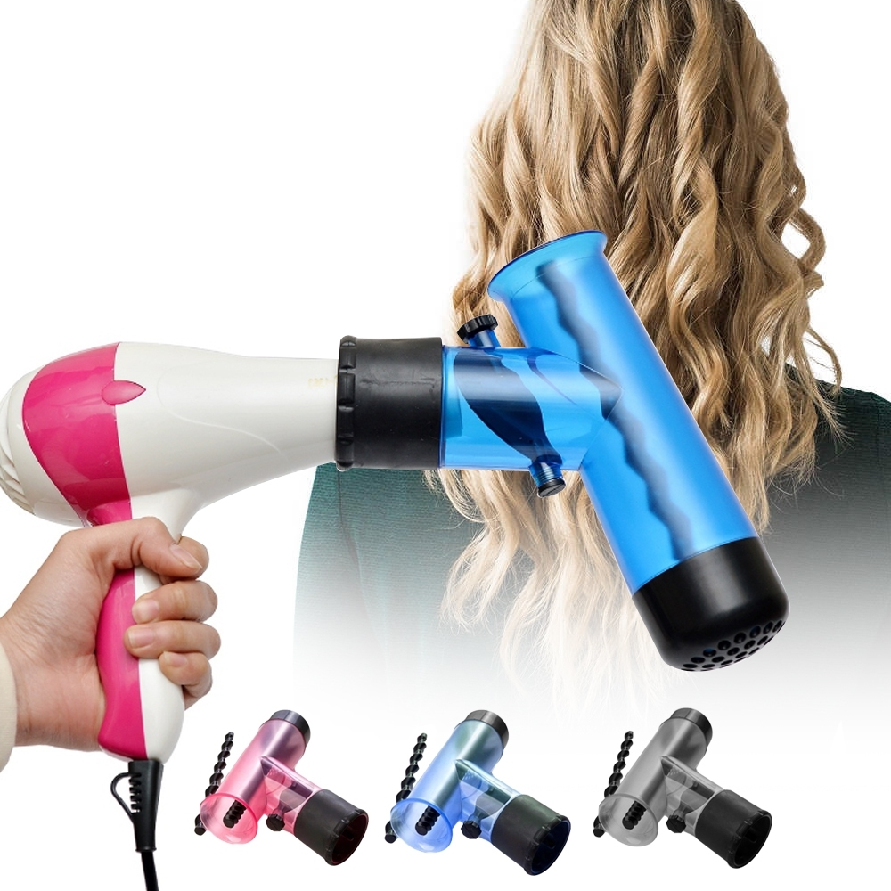 Telecorsa หัวต่อไดร์ ม้วนผม  รุ่น Hair-Culer-00A-J1