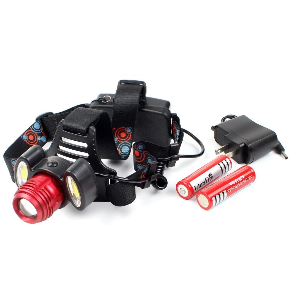 Telecorsa ไฟฉายคาดหัว ซูมได้  Headlight Rotary Zoom รุ่น Headlight-Rotary-zoom-05a-K2