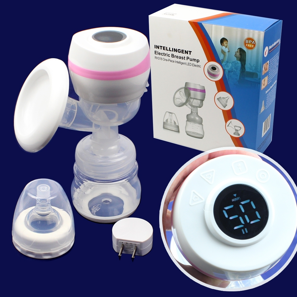 Telecorsa เครื่องปั๊มนมไฟฟ้า RH318  Intelligent Electric Breast Pump รุ่น Intelligent-Electric-Breast-Pump-RH318-X5-09DJS