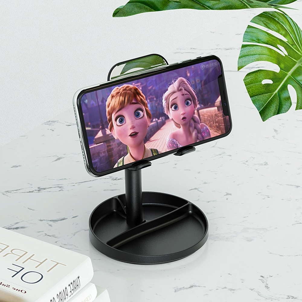 Telecorsa Borofone H25 3in1 Desktop Stand คละสี รุ่น H25-mobile-stand-socket-05i-Ri