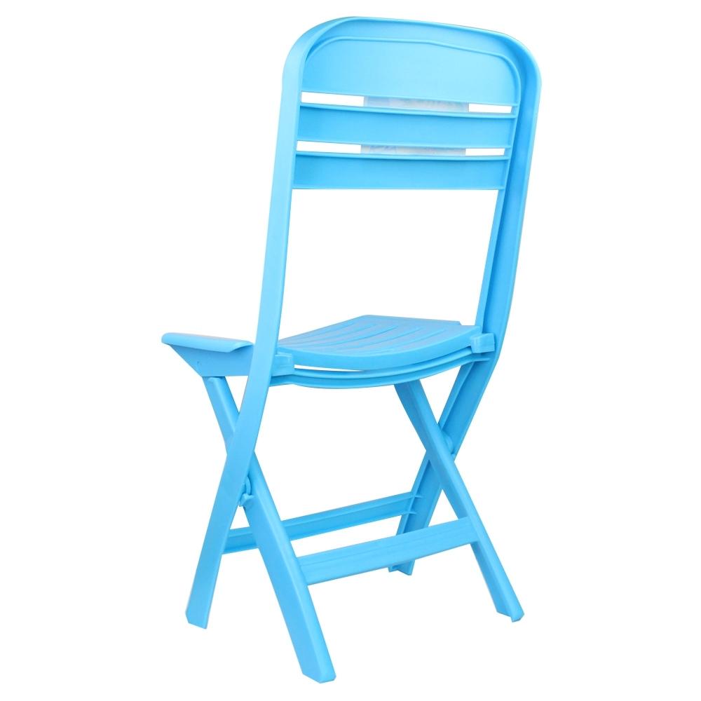 Telecorsa เก้าอี้พับ คละสี รุ่น Portablr-foldable-plastic-chair-05B-Boss