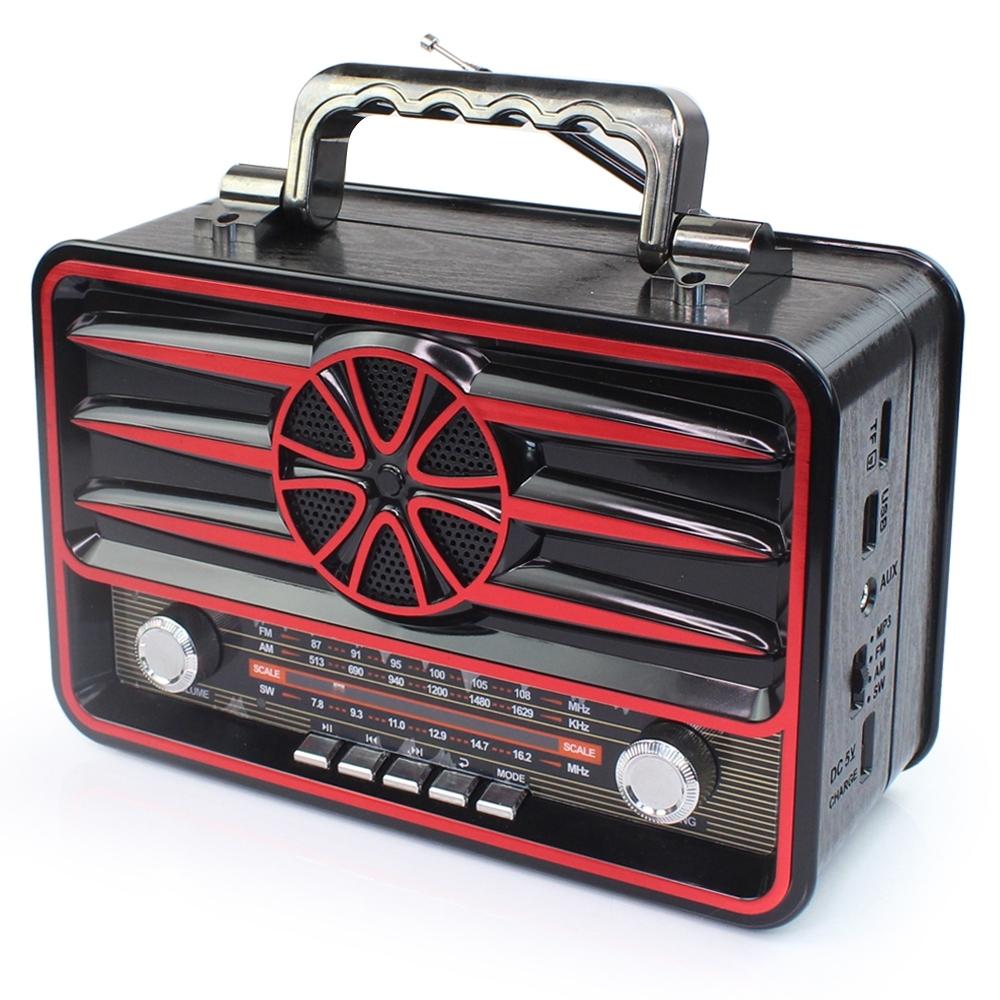 Telecorsa วิทยุ FM/AM Kemei MD-1906BT รุ่น radio-bluetooth-usb-portable-md-1906-bt-03c-K3