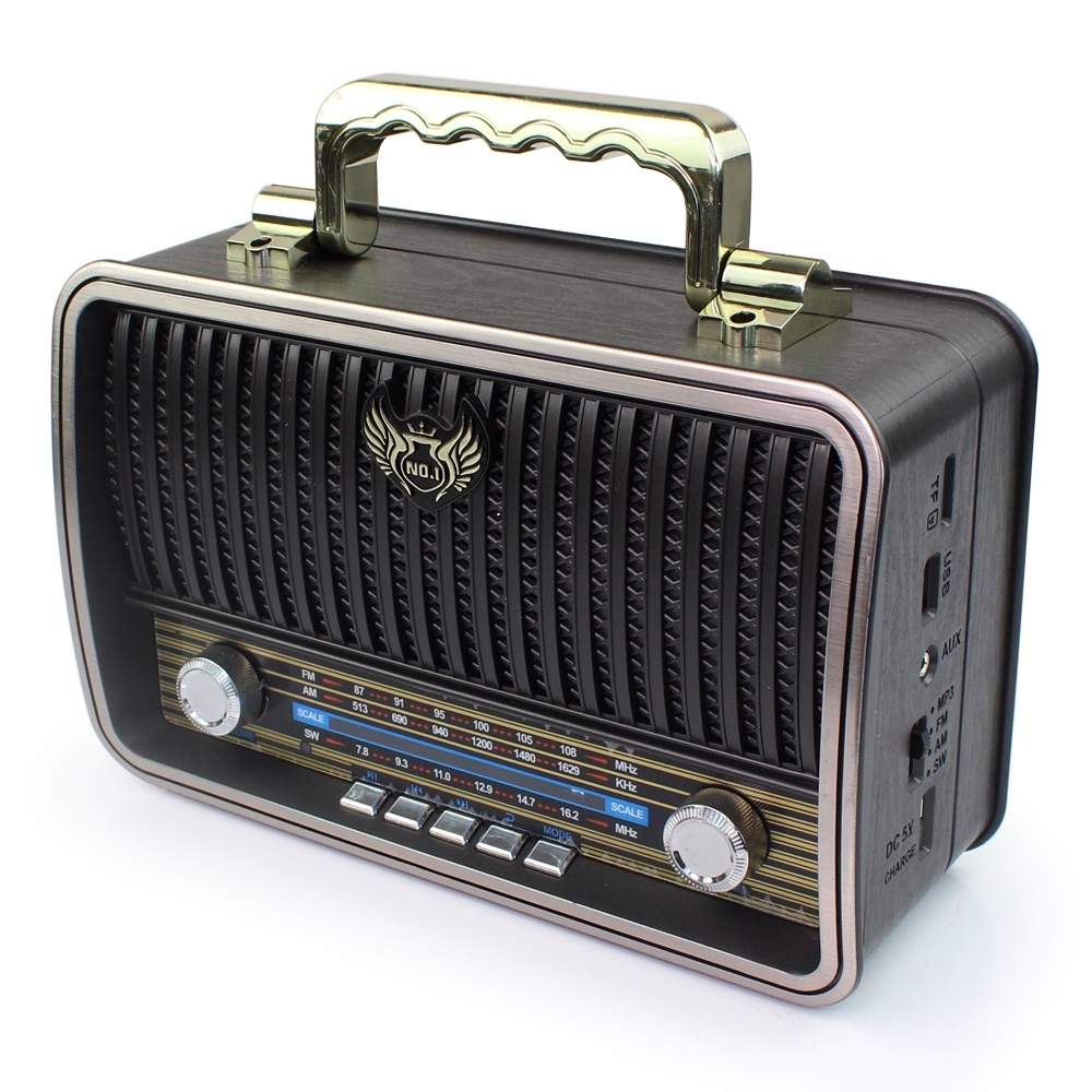 Telecorsa วิทยุ FM/AM Kemei MD-1909BT รุ่น radio-bluetooth-usb-portable-md-1909-bt-03c-K3
