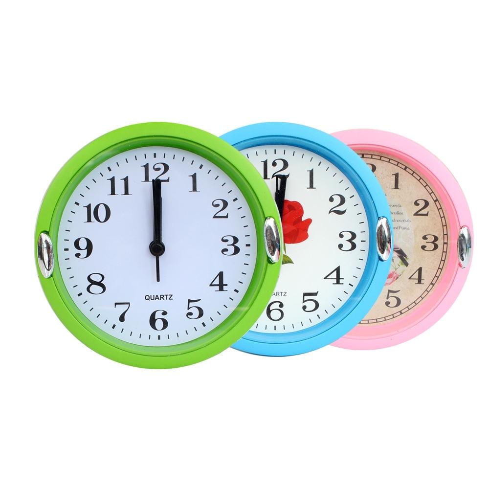 Telecorsa นาฬิกาแขวนขนาดเล็ก B05 (คละสี) รุ่น Hanging-clock-analog-06-Boss