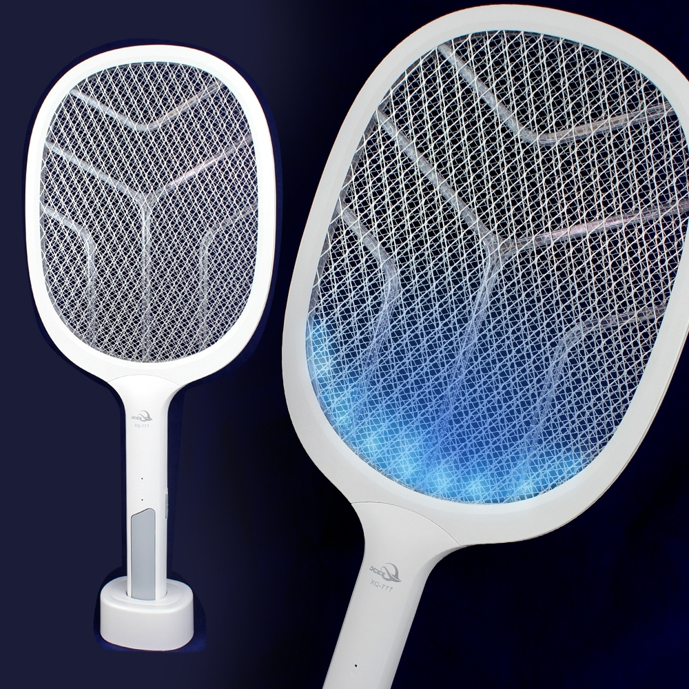Telecorsa ไม้ตียุง 2in1 (XQ-777) รุ่น2-in-1-anti-mosquito-racket-net-52a-song