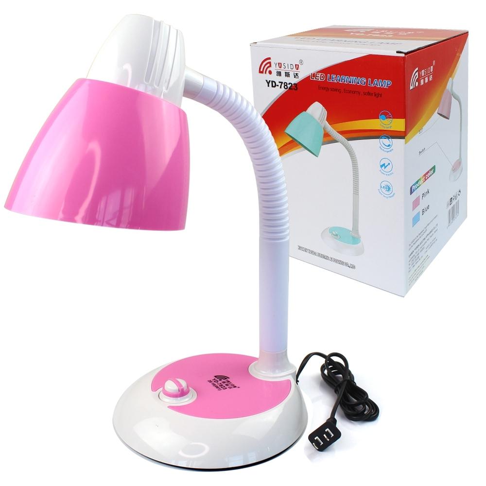 Telecorsa โคมไฟตั้งโต๊ะ โคมไฟอ่านหนังสือ LED YD-7823 (คละสี) รุ่น Table-bed-led-learning-lamp-yd-7823-08a-Song