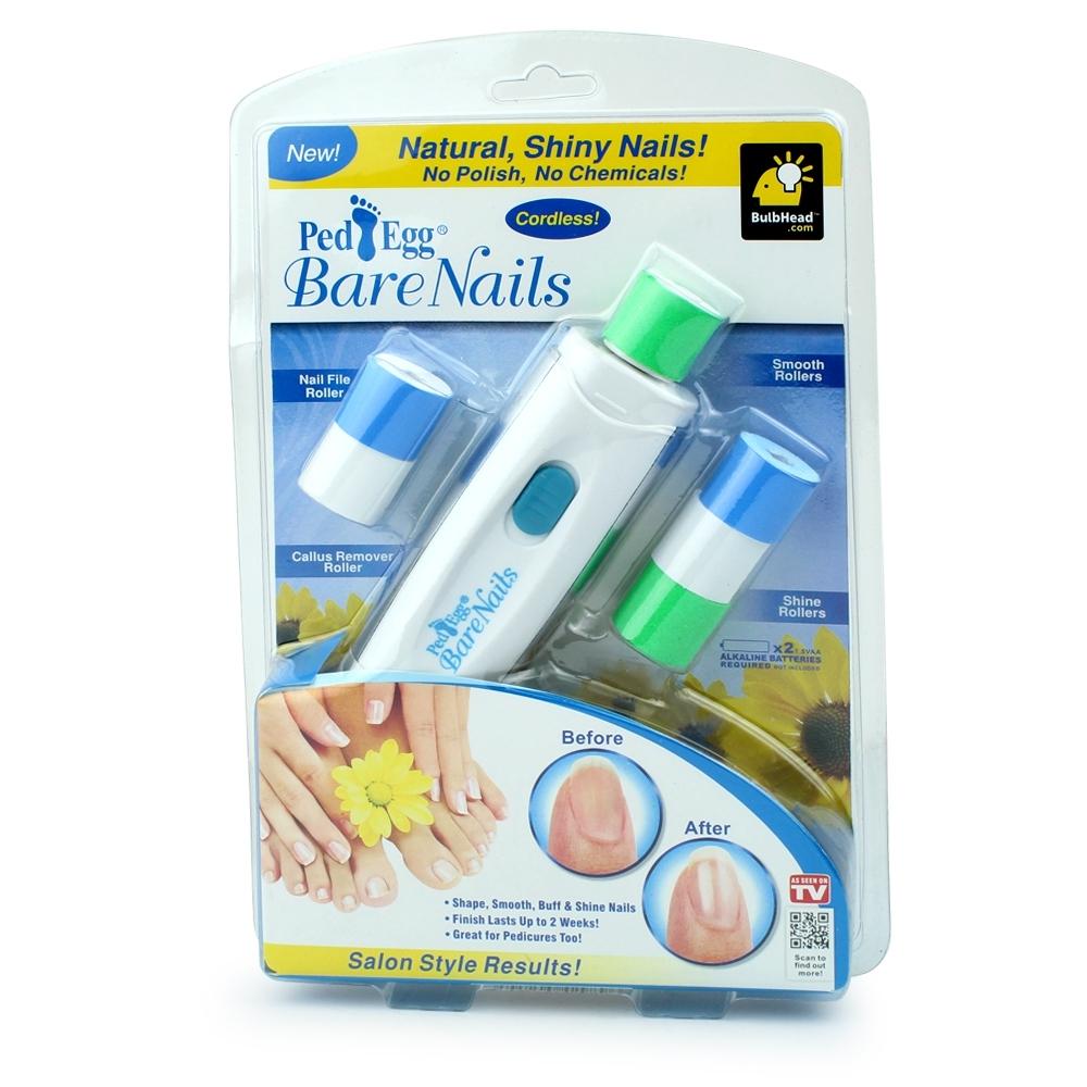 Telecorsa PedEgg เครื่องขัดเงาเล็บ รุ่น Bare-Nails-Ped-Egg-clean-nails-menicure-00A-J1