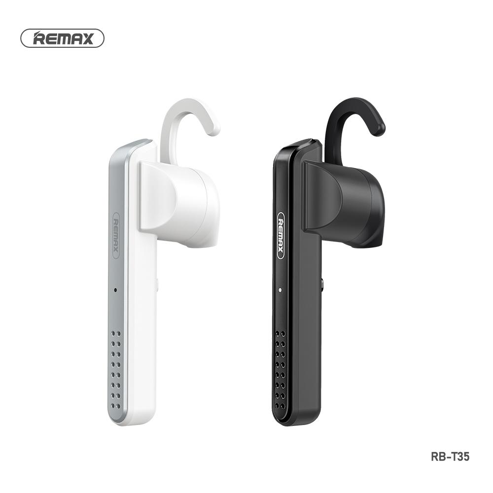 Telecorsa หูฟังบลูทูธไร้สาย รุ่นใหม่ล่าสุด REMAX RB-T35 คละสี รุ่น Wireless-headset-bluetooth-RB-T35-00B-Ri