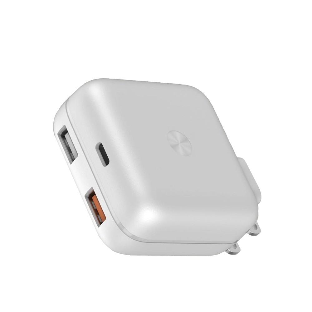 Telecorsa Eloop C2 หัวชาร์จแบบชาร์จเร็ว 30W Quick charge 3.0 รุ่น Plug-2usb-C2-08B-Ri