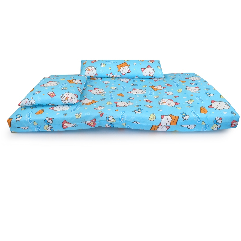 Telecorsa ชุดที่นอนเด็ก คละสี รุ่น Baby-Small-bed-55x90-02A-Pak2