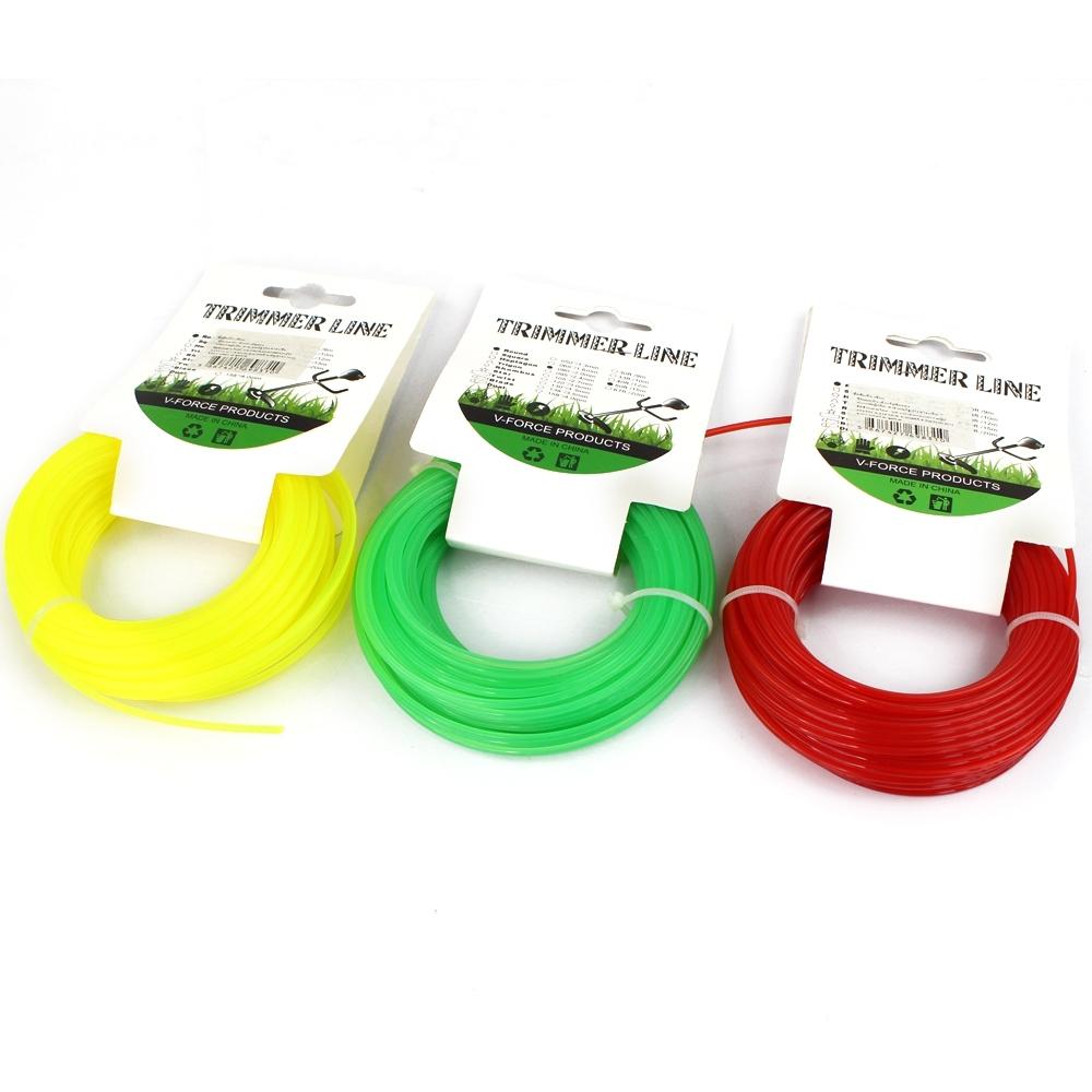 Telecorsa  สายเอ็นตัดหญ้า (คละสี) รุ่น Trimmer-Line-grass-cutter-plastic-Cable-05a-June3