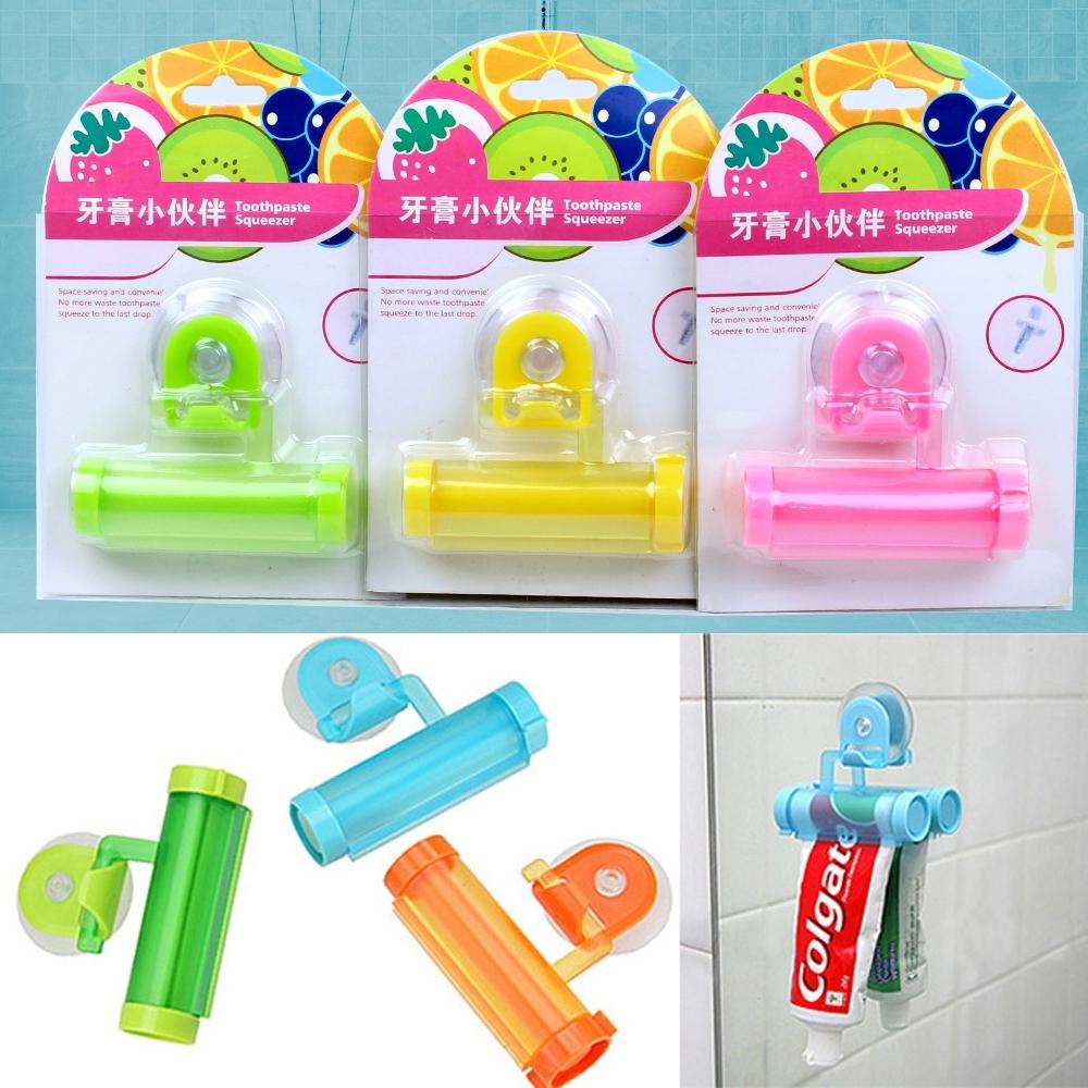 Telecorsa ที่บีบยาสีฟัน ที่รีดยาสีฟัน คละสี Toothpaste Squeezer รุ่น Toothpaste-squeezer-Toilet-02a-J1