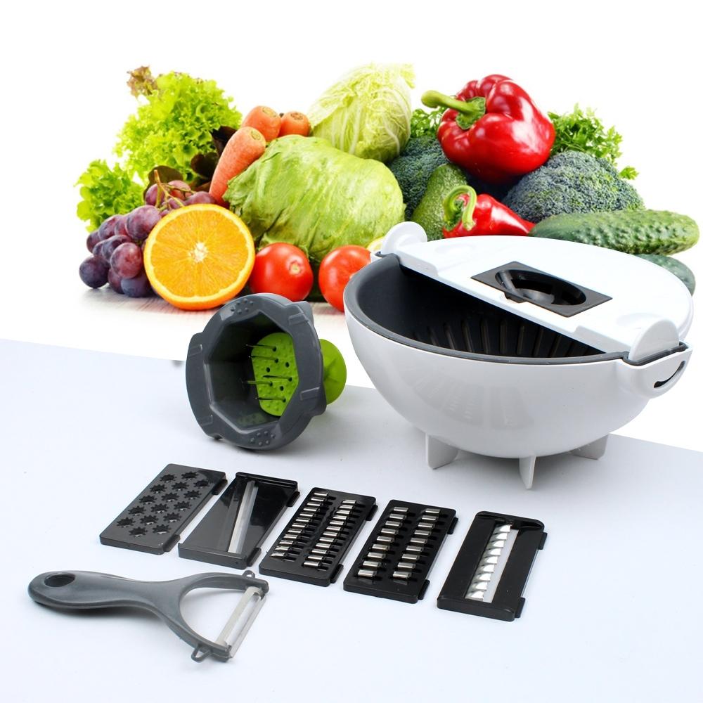 Telecorsa กะละมัง สไลซ์ผักผลไม้ อเนกประสงค์ DM-009 รุ่น Wash-Cutting-04a-J1