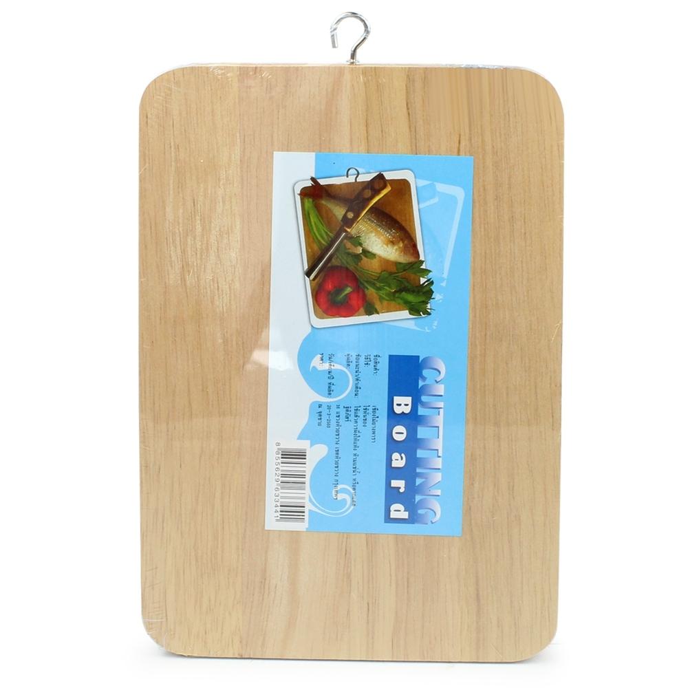 Telecorsa เขียง เขียงไม้ ขนาดเล็ก รุ่น Wooden-Cutting-Board-06a-June-Beam