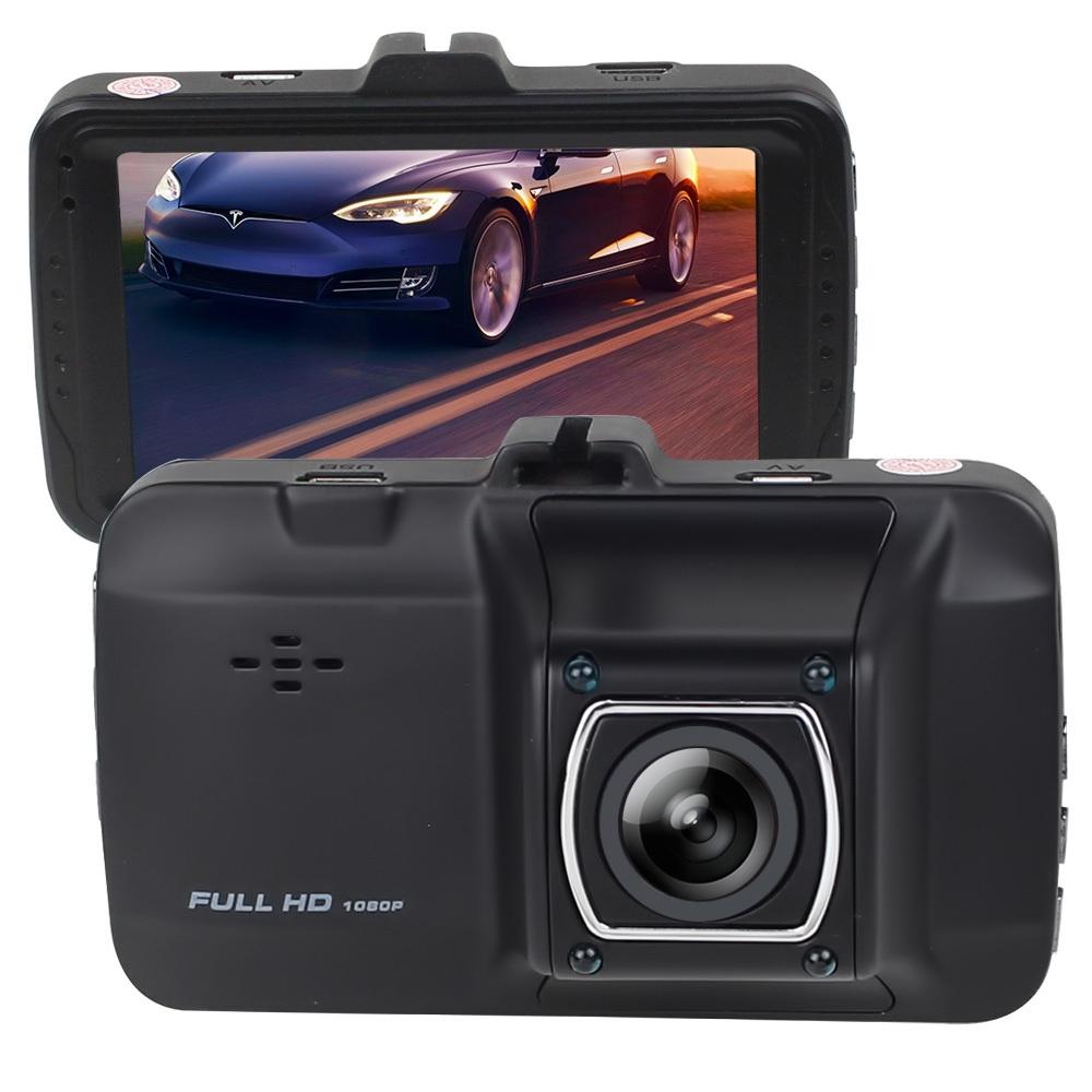 Telecorsa กล้องติดรถยนต์ Dual Lens Driving Recorder Full HD 1080P รุ่น DualLensDVR-05H-Gps