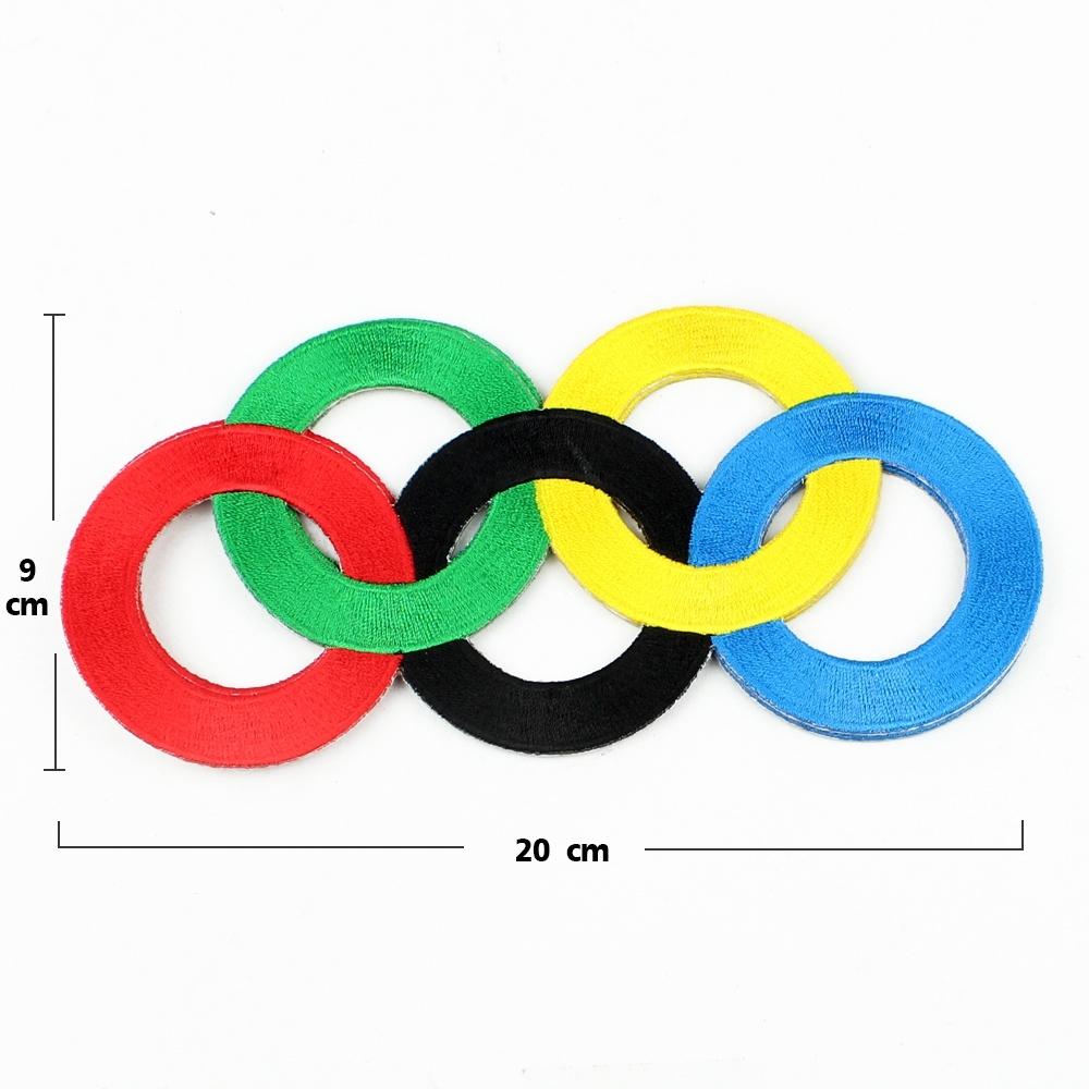 Telecorsa   อาร์มติดเสื้อ ตัวรีดติดเสื้อ Olympics รุ่น Stitches-Arm-Olympics-display-05a-Dej