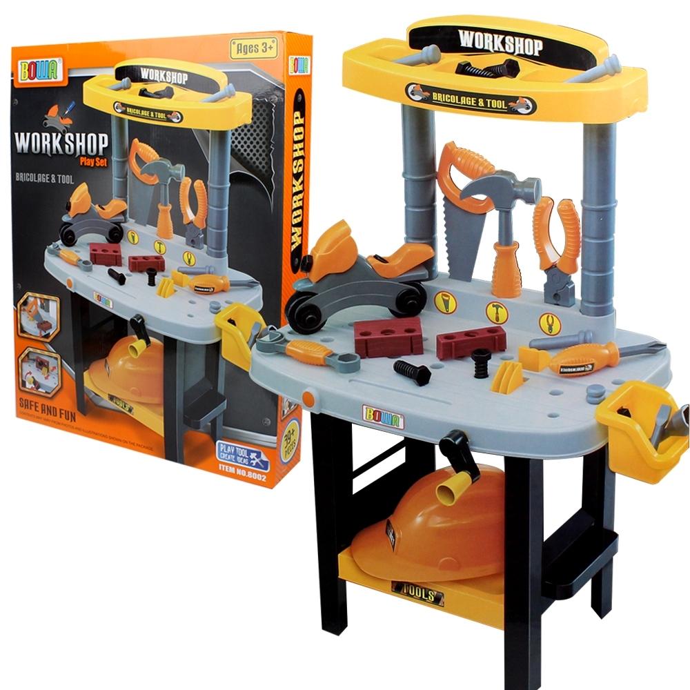 Telecorsa ชุดเครื่องมือช่าง ของเล่นเด็ก Work Shop Play Set รุ่น WorkShopSet-02D-Rim